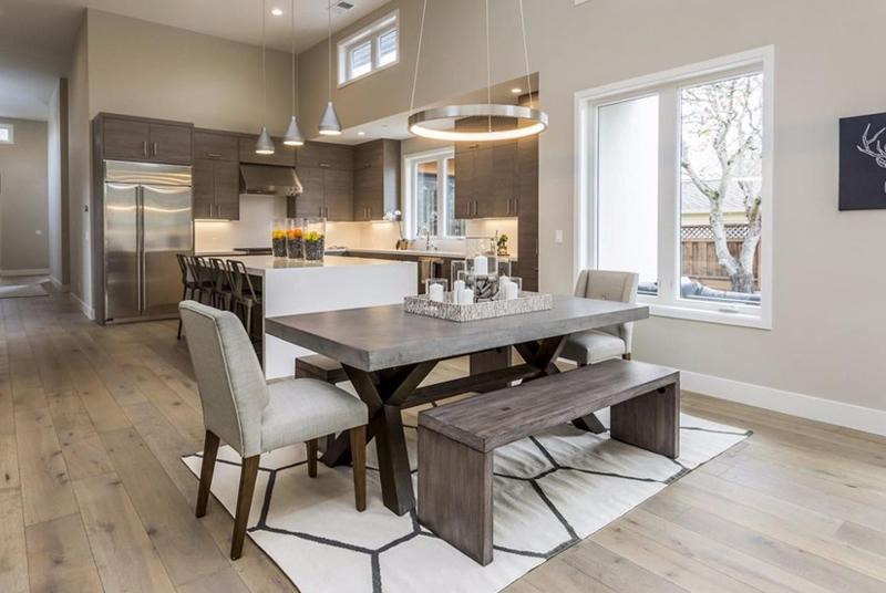 REA Kitchen with Pendant Lighting